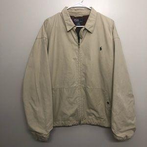 Polo Ralph Lauren bomber jacket fleece lined